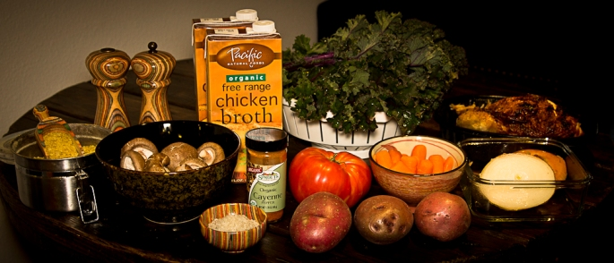 Ingredients for Kale Soup